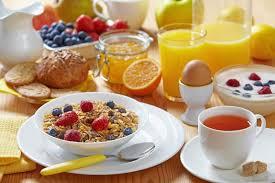 petit déjeuner régime