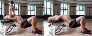 exercice pectoraux halteres