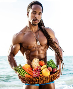 culturistes sont végétariens